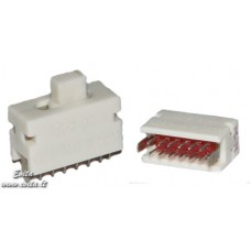 Slide switch PD2  2P4N  ON-ON