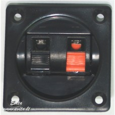Socket for acoustic columns su 2 pressed contacts (56x56 mm)