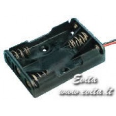 Batteries holder 3xR03(AAA) with wires