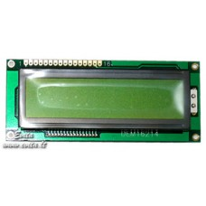 LCD indicator DEM16214SYH-LY 16x2 (4,07x7,76)mm with lighting