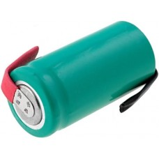 Rechargeable battery 2/3AA 1.2V 650mAh NiMh with soldering lugs
