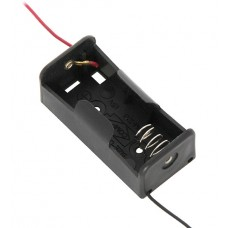 Battery holder 1x R14 with wire leads