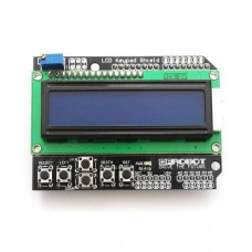16x2 LCD with keyboard
