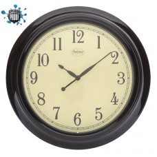 Analogue Wall Clock 46cm Black
