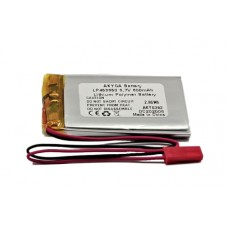 Rechargeable battery 3.7V 800mAh 4.6x33x50mm Li-Polymer