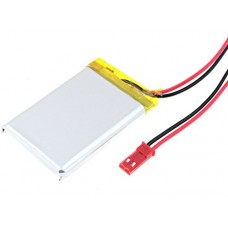 Rechargeable battery 3.7V 900mAh 5.7 x 34 x 50mm with protection and leads