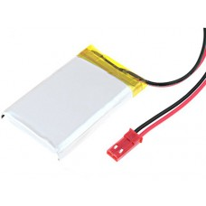 Rechargeable Battery 3.7V 850mAh 6 x 30 x 48mm Li-Polymer