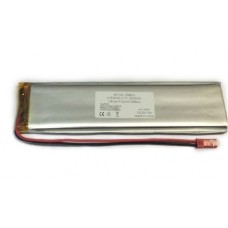 Reachargeable Battery 3.7V 3800mAh 7.8x36x140mm Li-Polymer with PCB Protection