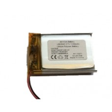 Rechargeable Battery 3.7V 1100mAh 09x30x43mm Li-Polymer with protection PCB