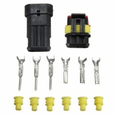 Car 3 Pin Waterproof Wire Connector