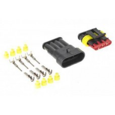 Car 4-pin Waterproof Wire Connector
