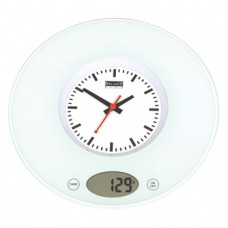 Kitchen scale with clock max. 3kg +-1g