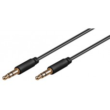 """Cable """"Ø3.5 Stereo Male - Ø3.5 Stereo Male"""" 1m"""