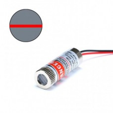 Laser module 12mm 650nm Red - Straight Line