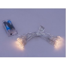 Christmas Tree Lamps LED 30 pcs. with 2 x AA Battery Holder