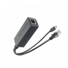 Active PoE Splitter 48V to 5V 2A microUSB