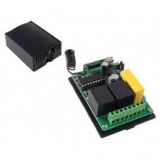 2 Channels Relay 220 VAC 433 Mhz Self Learning