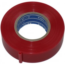 "Insulating tape ""VINI TAPE"" 0.13mm x 19mm x 20m red"