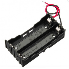 2x 18650 Li-Ion Battery holder without DC connector
