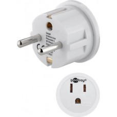 Power adapter from American to European type