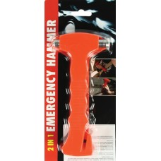 2-in-1 emergency hammer