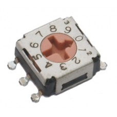 SMD Rotary Switch ERD610RM-SMD 10-pos.